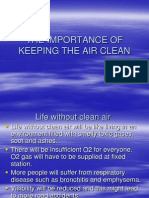 6- The Importance of Keeping the Air Clean