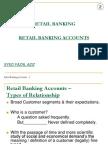 Retail Banking Accounts