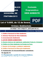 Lei de Crimes Ambientais Em PDF - l i n o