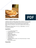 Mom's Apple Squares