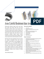 Bab 05 Arus Listrik Resistensi Dan Arus Searah