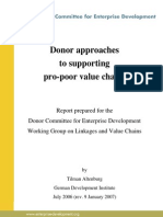 DonorApproachestoPro-PoorValueChains[1]