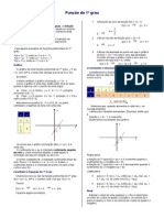 função do 1 grau-Básico