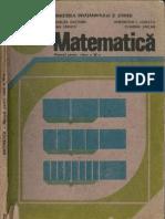Cls 4 Manual Matematica 1991