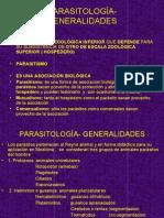 parasitologia - generalidades