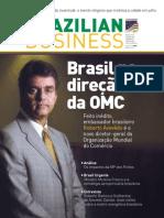 AMCHAM. Brazilian Business 281. Brasil na direção da OMC