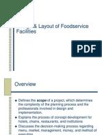 Restaurant Project Planning