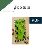 Ladybird Tic Tac Toe
