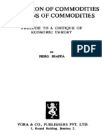 Sraffa the Production of Commodities by Means of Commodities