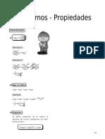 IV  ALG - Guía 2 - Logaritmos - Propiedades