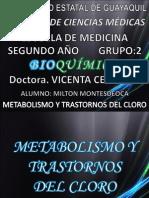 Metabolismo Del Cloro