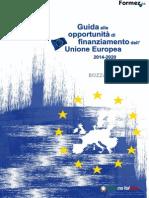 Guida Ai Finanziamenti UE 2014-2020