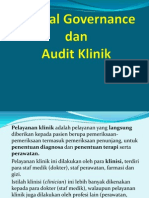 Clinical Governance Dan Audit Klinik