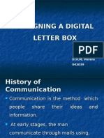 Electronic Research - Designing a Digital Letter Box