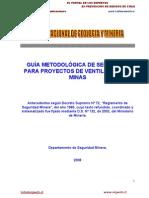Guía Metodológica Ventilacion de Minas