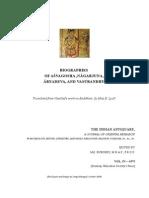 Biographies of Asvagosha Nagarjuna Aryadeva and Vasubandhu