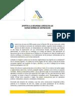 AGR - Aportes Seguridad Juridica Contratacion Estatal