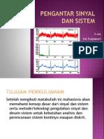 Pengantar Sinyal Dan Sistem1