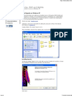 How to Install Apache on Windows XP