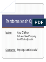 Transformations Opengl 11 12 eBook