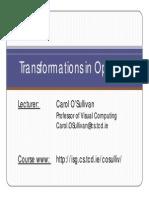 Transformations Opengl 11 12 eBook