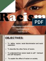 Persuasive speeches on racism