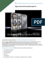 Eep-Assemblies of Switchgear and Control Panels Part 3