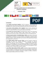 PROGRAMA CONGRESO Arequipa Peru 2013 Septiembre