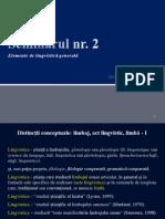 Notiuni Generale de Lingvistica