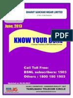 Jan_Know Your BSNL[Mobile]-A Customer Handbook