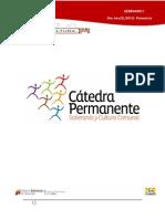 Cátedra Permanente - Doc. tres(3).(2013) Ponencias