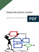 Etapas Del Proceso Creador