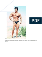 Pic Frank Zane a Professional Bodybuilder New and Old