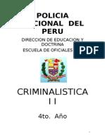 Criminalistica II 2009
