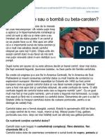 Cartof Dulce Sau Bomba Cu Betacaroten