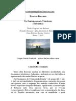 Ernesto Bozzano - Os Fenômenos de Telestesia (Telepatia)