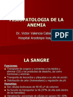 Fisiopatologia de La Anemia