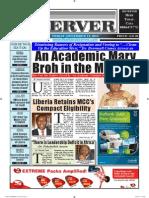 Liberian Daily Observer, 12/13/2013