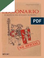 Matyszak Philip Legionario El Manual No Oficial Del Soldado Romano