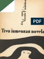 Tres Novelas Ejemplares Huidobro Arp