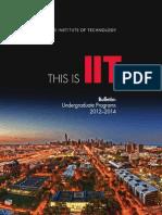 Undergraduate Bulletin 2012 2014