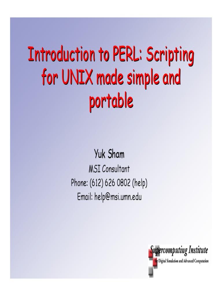 Perl date