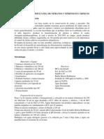 Determinación  simultanea de Nitratos y Nitritos en Cárnicos