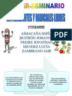 Seminario Tercero Antioxidantes y Radicales Libres