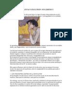 pOLÍTICAS EDUCATIVAS Y EXCLUSIÓN