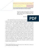 Peixoto, Renato Amado - A Flecha e o Alvo - Anpuh2013