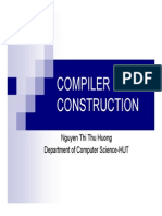 compiler construction chap1 - introduction