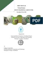 The Asian Agri History Foundation (National Seminar 15-16 Nov 2013)