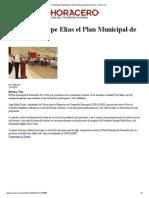 13-12-2013 'Presentará Pepe Elías el Plan Municipal de Desarrollo'