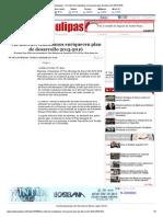 13-12-2013 'Vía internet ciudadanos enriquecen plan de desarrollo 2013-2016'
